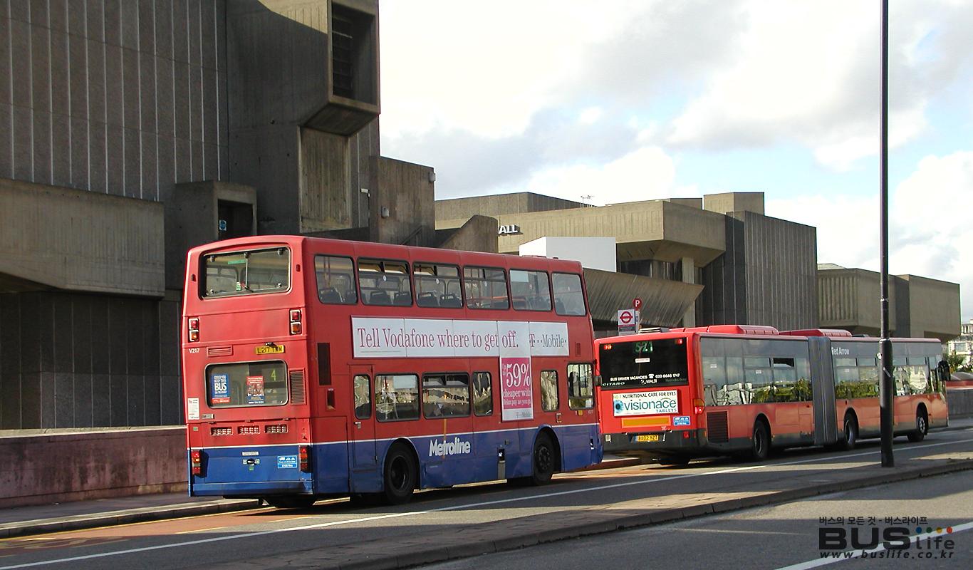 영국 이층버스와 굴절버스