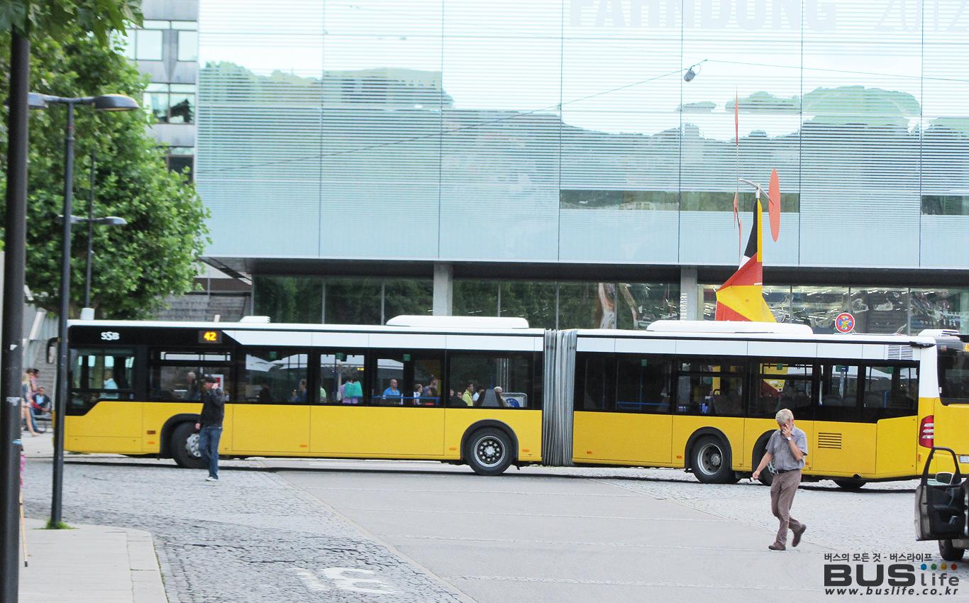 독일 슈트트가르트 용량 증대형 굴절버스